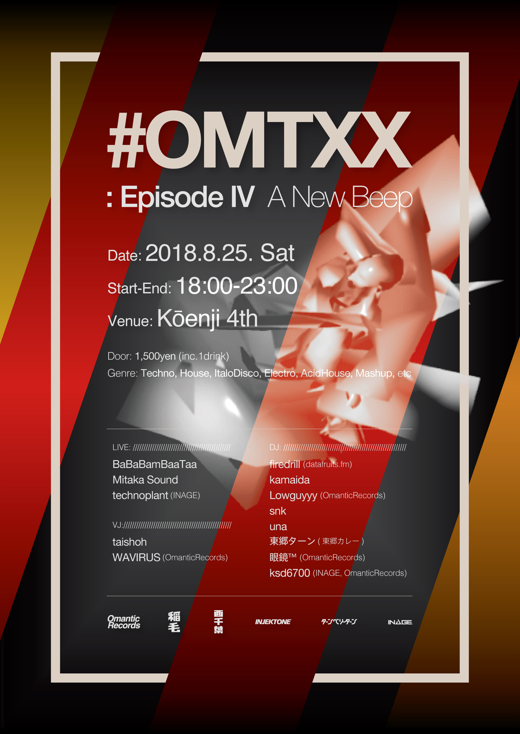 #OMTXX : Episode IV  A New Beep